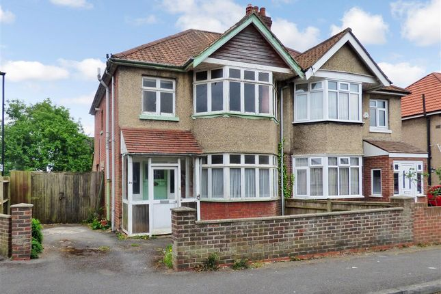 3 bed semi-detached house for sale in Gurney Road, Shirley, Southampton