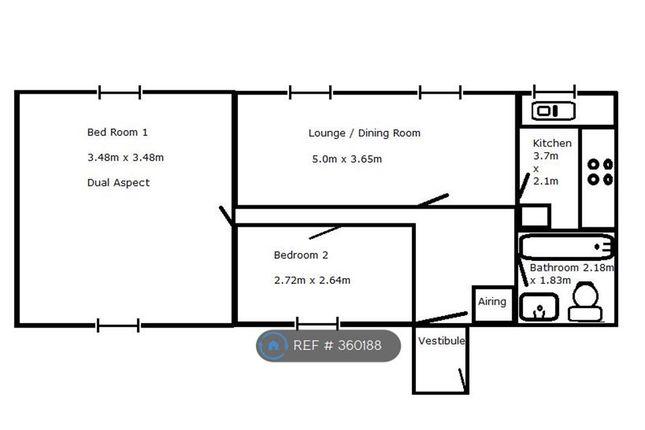 Thumbnail Flat to rent in Northgate Lodge, Pontefract