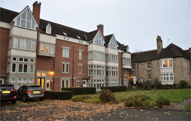 Thumbnail Flat for sale in Castle Hill House, Wylam, Northumberland.