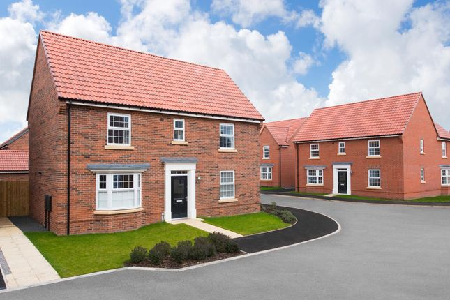 "Thumbnail Detached house for sale in ""Bradgate"" at Hurst Lane, Auckley, Doncaster"