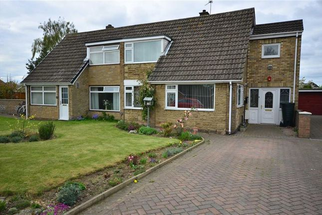 Thumbnail Semi-detached house for sale in The Meadows, Howden