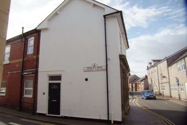 Thumbnail Flat to rent in Princes Road, Rhosllanerchrugog, Wrexham