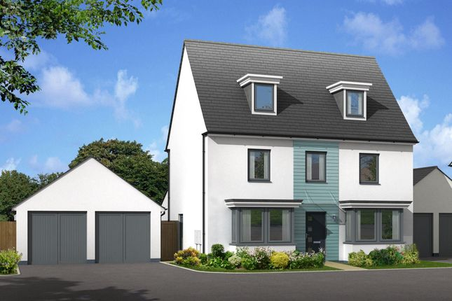 "Thumbnail Detached house for sale in ""Emerson"" at Church Close, Ogmore-By-Sea, Bridgend"