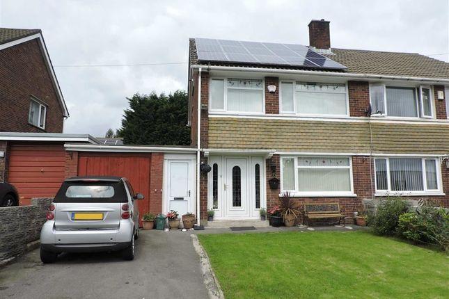 Thumbnail Semi-detached house for sale in Glyncollen Drive, Ynysforgan, Swansea