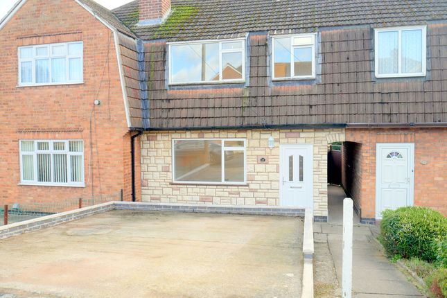 Thumbnail Semi-detached house to rent in Martin Avenue, Oadby, Leicester