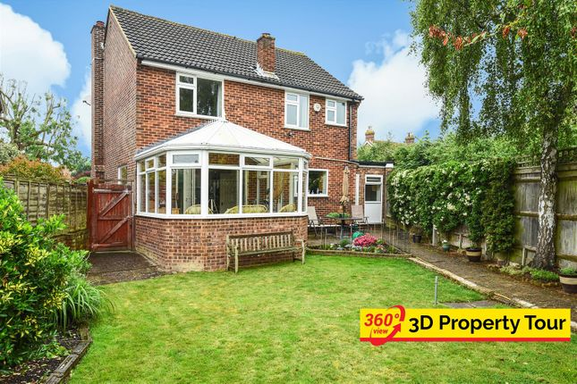 Thumbnail Detached house for sale in Ersham Road, Hailsham