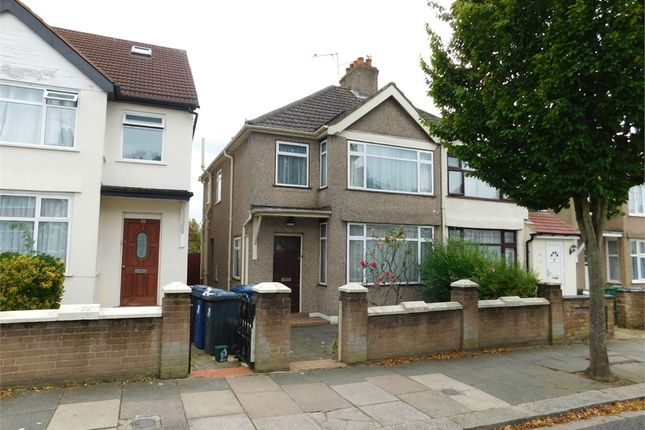 Thumbnail Semi-detached house for sale in Beechmount Avenue, Hanwell, London