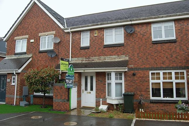 Thumbnail Terraced house to rent in Roman Court, Wallsend