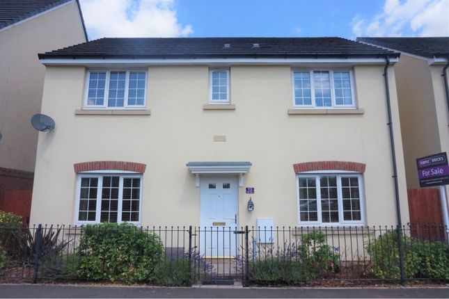 Thumbnail Detached house for sale in Mill View, Caerphilly