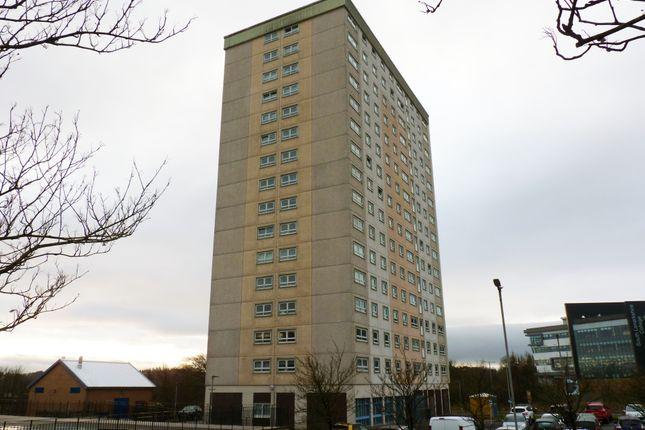 Front of Calder Tower, St Leonards, East Kilbride G74