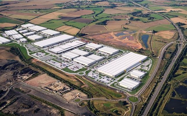 Thumbnail Light industrial to let in Unit Ip1B, Iport, Ontario Drive, New Rossington, Doncaster, South Yorkshire