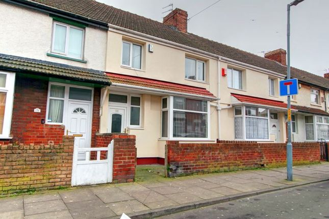 Thumbnail Terraced house for sale in Crescent Road, Middlesbrough