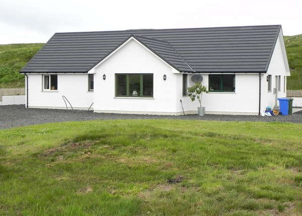 Thumbnail Detached bungalow for sale in Cnoc Dubh, 23 Portnalong, Carbost, Isle Of Skye