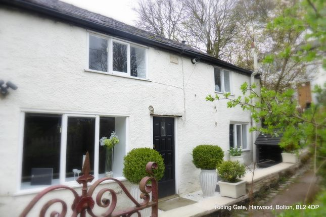 Thumbnail Cottage to rent in Riding Gate, Harwood, Bolton