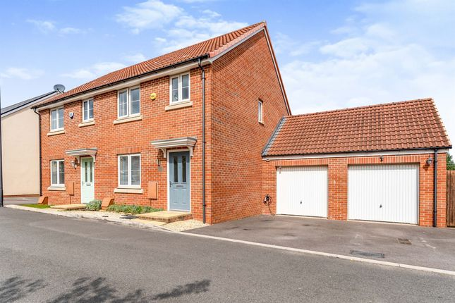 Thumbnail Semi-detached house for sale in Larch Close, Emersons Green, Bristol