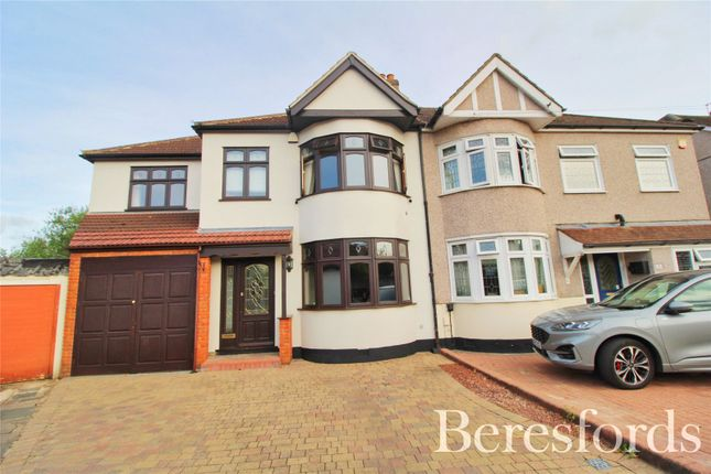 Thumbnail Semi-detached house for sale in Clarence Avenue, Upminster