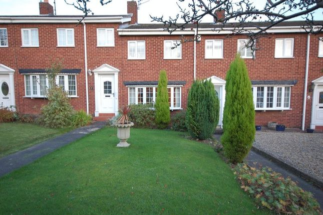 Thumbnail Terraced house for sale in Georgian Court, West Moor, Newcastle Upon Tyne