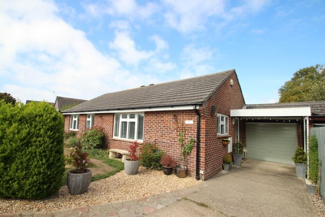 Thumbnail Detached bungalow for sale in Keyes Close, Mudeford