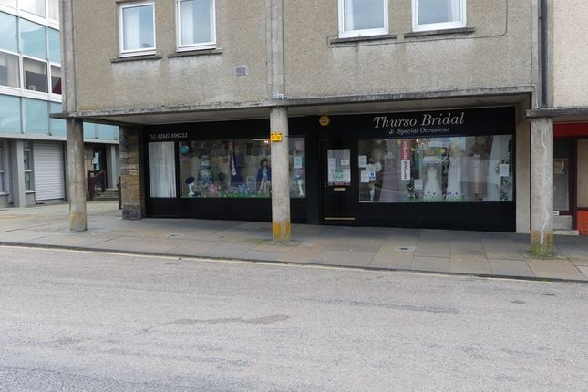 Thumbnail Retail premises for sale in High Street, Thurso