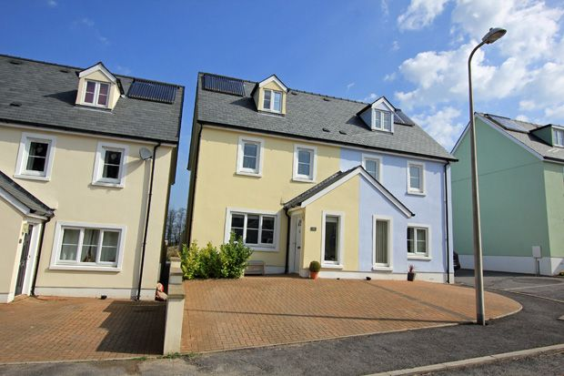 Thumbnail Semi-detached house for sale in Parc Y Gelli, Foelgastell, Nr. Cross Hands, Carmarthenshire
