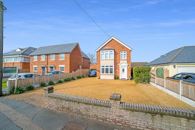 Thumbnail Detached house for sale in Orchard Lodge, Station Road, Tiptree, Colchester