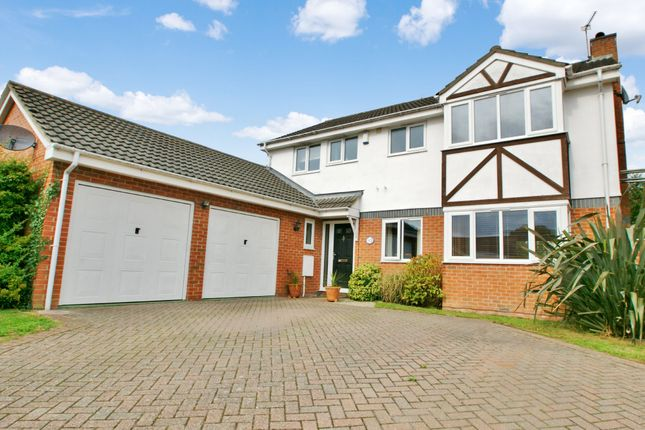 Thumbnail Detached house for sale in Harvest Close, Hainford, Norwich