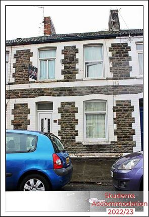 Thumbnail Shared accommodation to rent in Merthyr Street, Cardiff