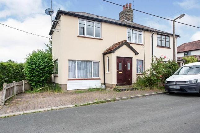 Thumbnail Semi-detached house for sale in Ingrave, Brentwood, Essex