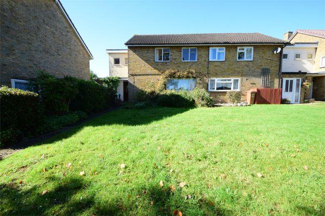 Thumbnail End terrace house for sale in Oaks Cross, Stevenage, Hertfordshire
