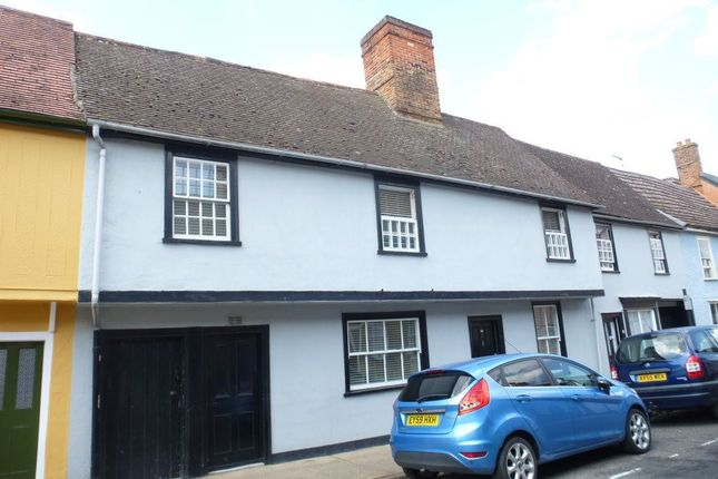 Thumbnail Terraced house to rent in College Street, Bury St. Edmunds