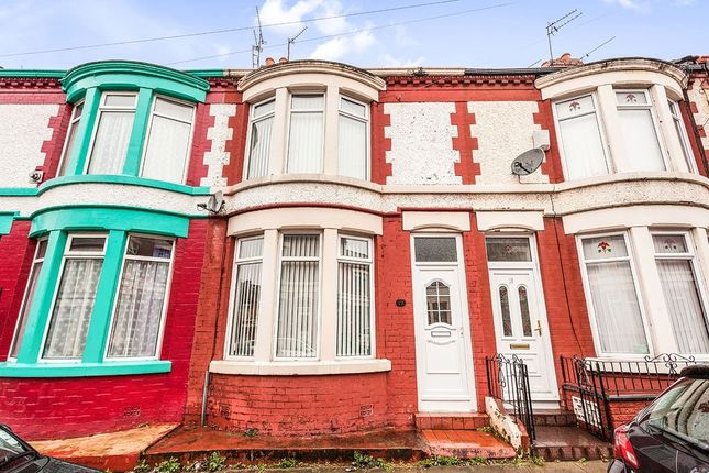 Thumbnail Terraced house for sale in Southdale Road, Wavertree, Liverpool