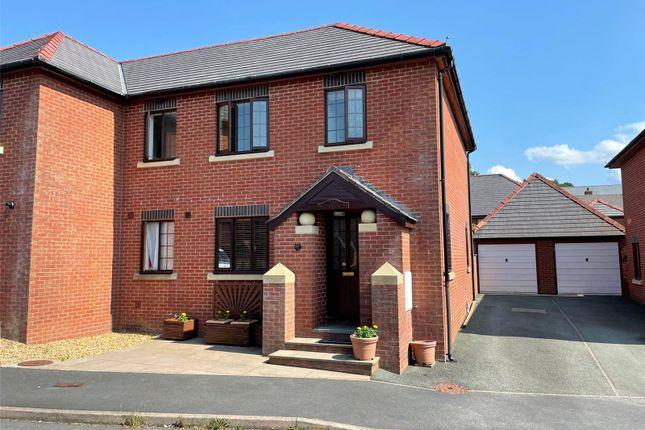 Thumbnail Semi-detached house for sale in Rhos Y Maen Isaf, Gorn Road, Llanidloes, Powys