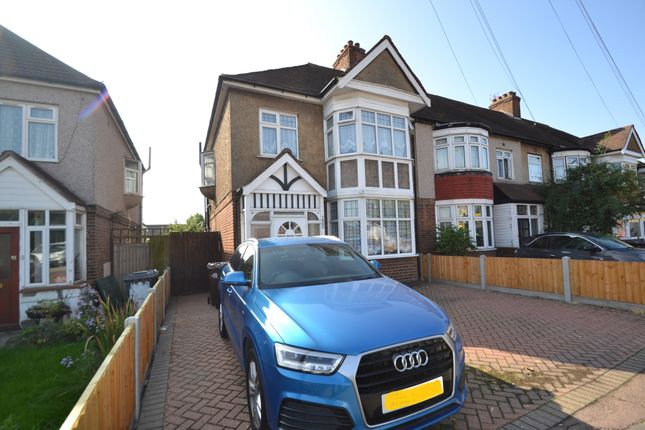 Thumbnail End terrace house for sale in High Road, Chadwell Heath, Romford