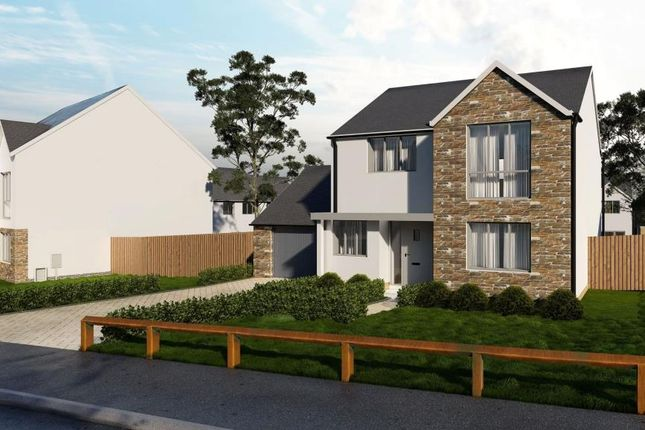 Thumbnail Detached house for sale in Florence Park, Florence Road, Callington, Cornwall