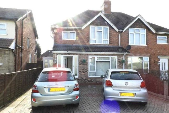 Thumbnail Semi-detached house to rent in Blackthorn Road, Delves Estate, Walsall