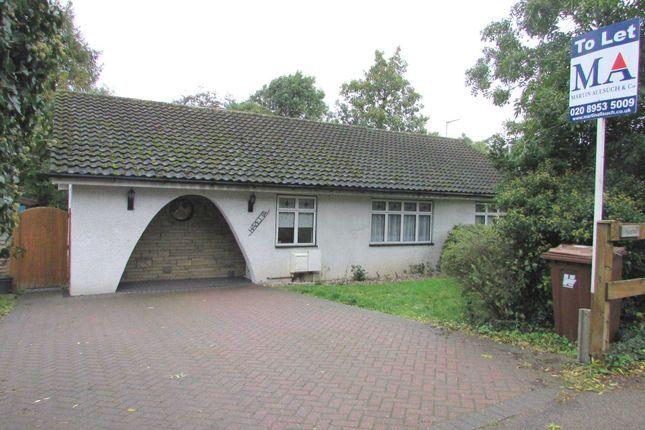 Thumbnail Bungalow to rent in Hartspring Lane, Watford