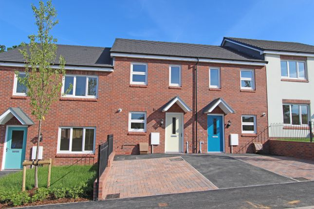 2 bed terraced house for sale in Plot 8, Bowling Green View, Cullompton, Devon