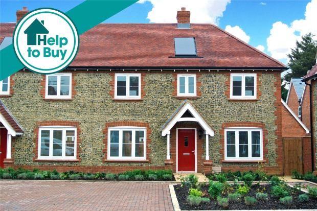 Thumbnail Semi-detached house for sale in Oakwood Gate II, Hemel Hempstead, Hertfordshire
