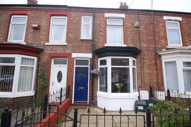 2 bed terraced house for sale in Belgrave Street, Darlington DL1