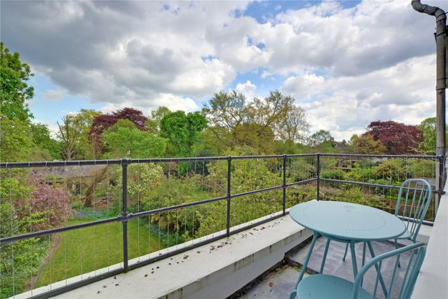 Balcony of Vanbrugh Terrace, Blackheath, London SE3