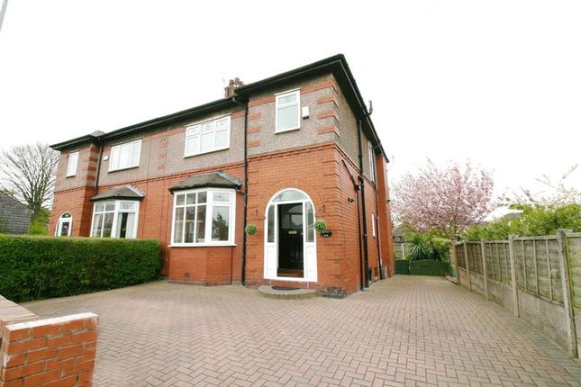 Thumbnail Semi-detached house for sale in Park Road, Walkden, Manchester