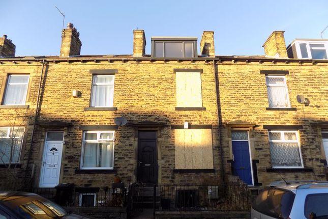 Thumbnail Terraced house for sale in Woodhall Terrace, Thornbury, Bradford