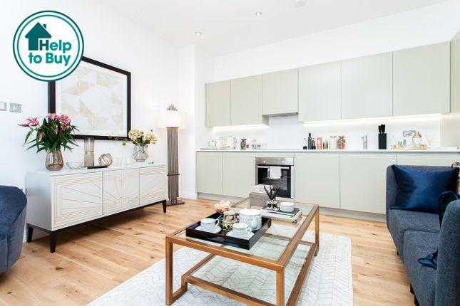 Thumbnail Flat for sale in Western Avenue, Perivale, London