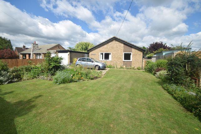 Thumbnail Detached bungalow for sale in Hadleigh Road, Elmsett, Ipswich