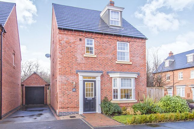 Thumbnail Detached house for sale in Crowson Drive, Quorn, Loughborough