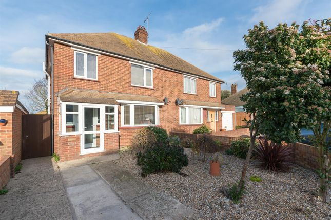 Thumbnail Semi-detached house for sale in Hockeredge Gardens, Westgate-On-Sea