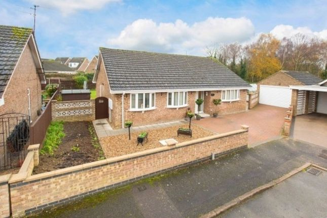 Thumbnail Detached bungalow for sale in Baltic Close, Corby