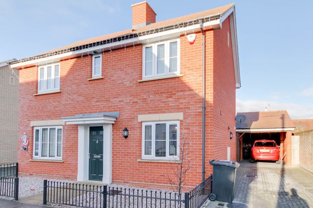 Thumbnail Detached house for sale in New Farm Road, Stanway, Colchester