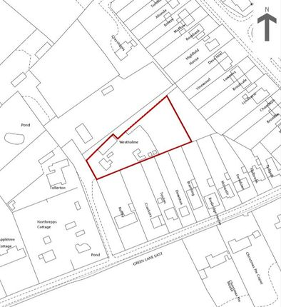 Thumbnail Land for sale in Green Lane East, Normandy, Guildford