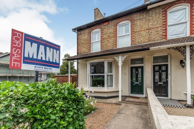 Thumbnail Semi-detached house for sale in Singlewell Road, Gravesend, Kent